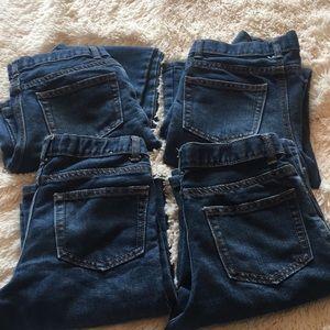 Crazy 8 boys bootcut jeans Sz 14 slim. Lot of 4